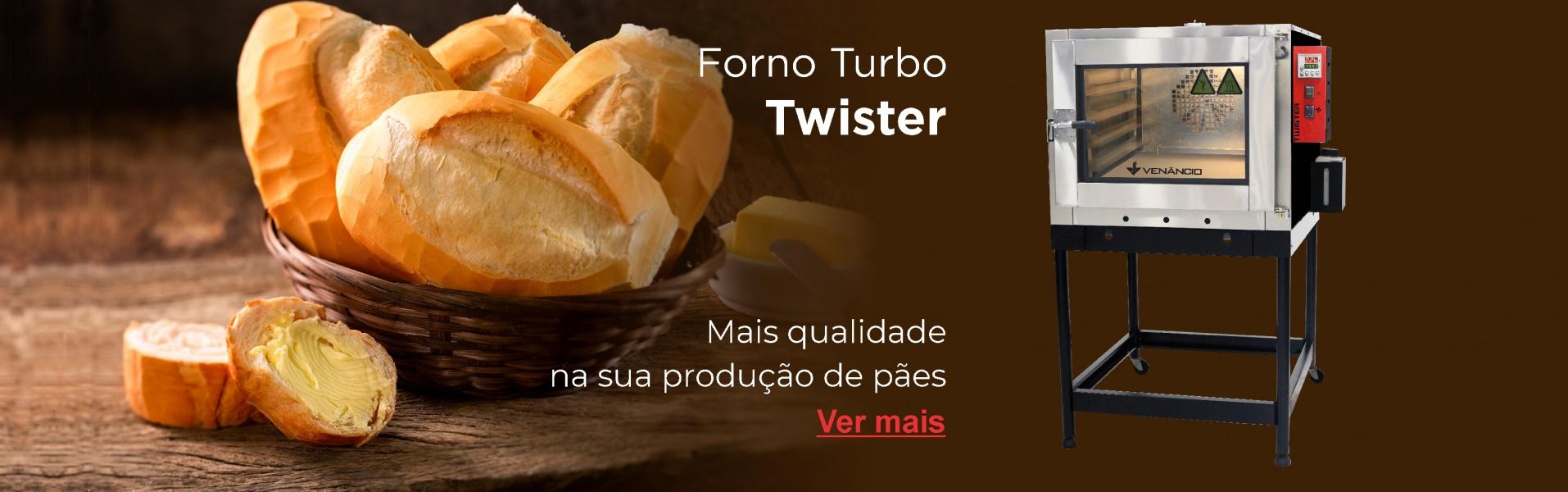 Novo forno Twister