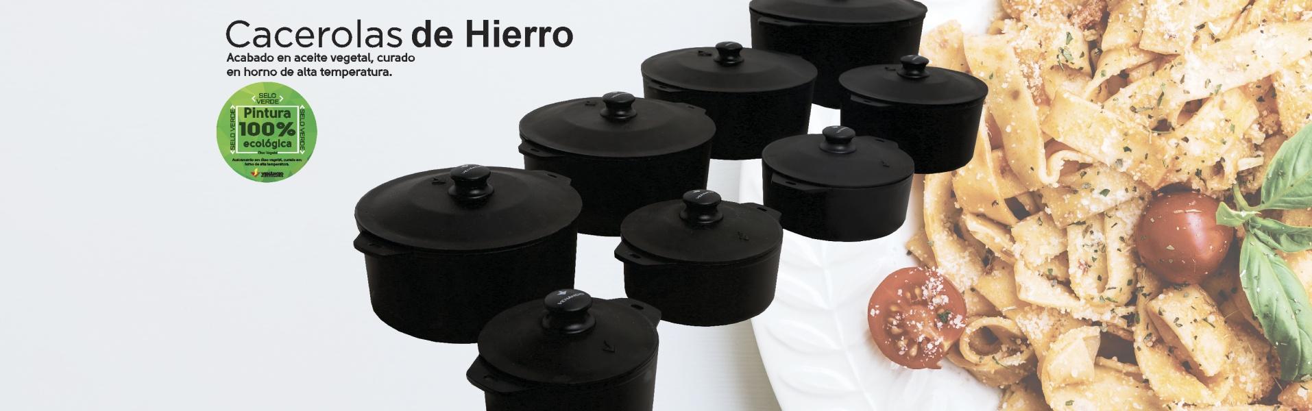 CACEROLAS DE HIERRO